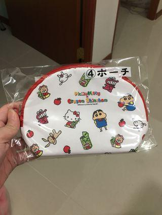 🚚 Hello Kitty x Crayon Shin Chan - Prize 7 (Waterproof Pouch)