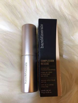 bareMinerals Hydrating Foundation Stick ) Color : Vanilla 02) New Launch 100% Real & New 包平郵