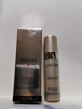 LANCOME ABSOLUE 去紋眼精華5ml