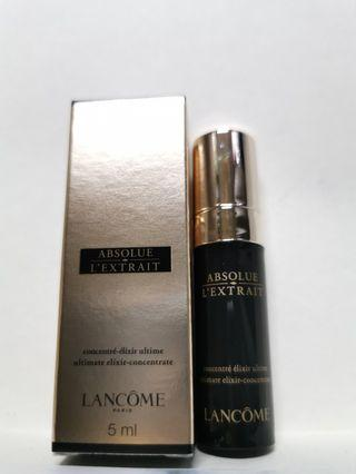 LANCOME ABSOLUE 黑金面部精華5ml $180