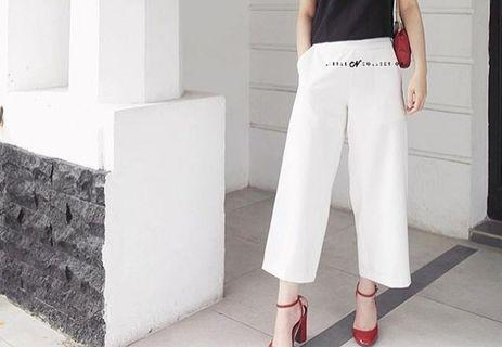 Basic Cullote Pants