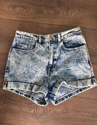 American Apparel Acid Wash Shorts size 29
