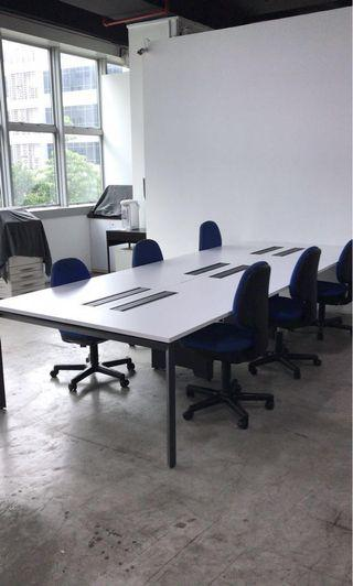 Co-share office desks for cheap rental - best for startups and entrepreneurs