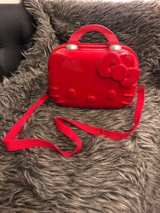 Authentic hello kitty makeup luggage bought in Tokyo