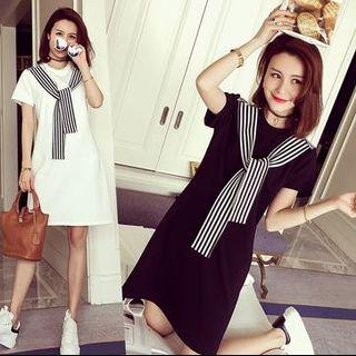 Black or White Casual Dress