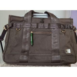 9成新 Porter 咖啡色 手提包 肩背包 托特包 公事包 斜背包 側背包 包 後背包(tough 吉田 Porter