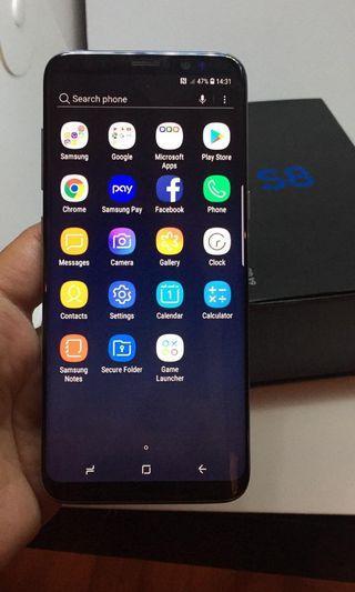 Samsung S8 orchid grey 64gb 1 sim 有中文
