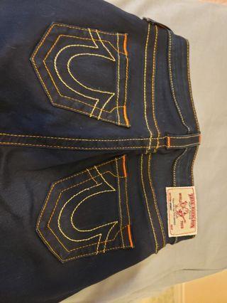 True Religion Womens Curvy Skinny size 26 jeans