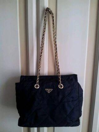 Authentic Prada Nylon Chain Bag