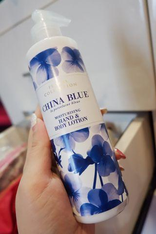 mark and spencer body lotion china blue