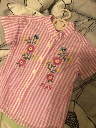 X girl stage 恤衫(100cm)