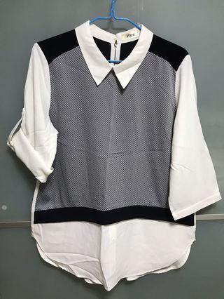 HUE office blouse