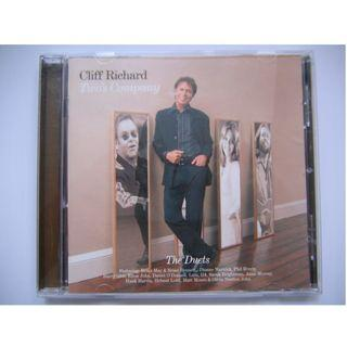 Cliff Richard - Two's Company CD (Made In EU) (Feat. Brian May, Brian Bennett, Dionne Warwick, G4, Daniel O' Donnell, Phil Everly, Sarah Brightman, Matt Monro, Hank Marvin, Barry Gibb, Anne Murray, Elton John, Olivia Newton-John, Helmut Lotti, Lulu)