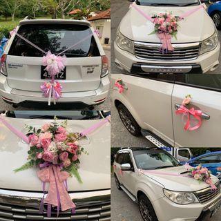 Wedding Car Decor E128