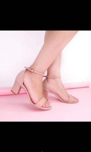 Pink Heels / Sepatu Hak Pink