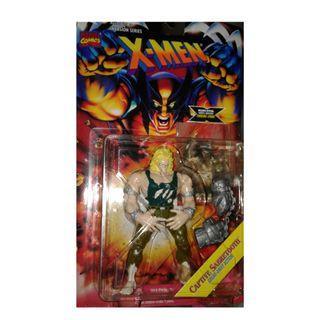絕版 難尋 懷舊 1995年 Toybiz Marvel X-Men Captive Sabretooth 5吋高 action figure 1款