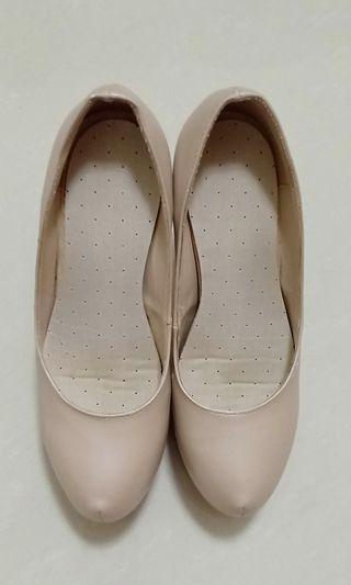Nude women's heels
