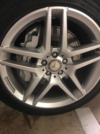 Mercedes Benz genuine AMG rims 19""