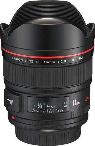 Price drop - Canon EF 14mm F2.8 ii USM  Prime Lens