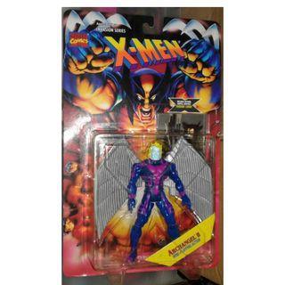 絕版 難尋 懷舊 1995年 Toybiz Marvel X-Men Archangel II (5吋高) action figure 1款