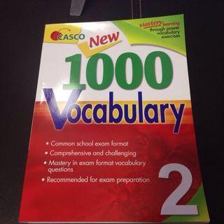 🚚 P2 CASCO New 1000 Vocabulary