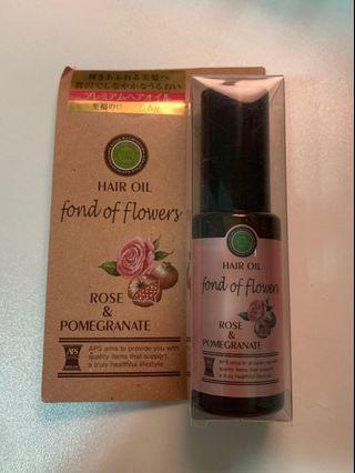 Hair oil - Rose & Pomrgranate 50ml