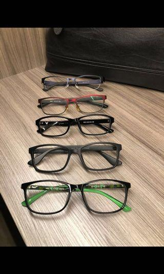 Assorted Spectacle Frames