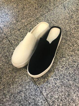 🚚 #女款最新圓頭前包後空後底拖鞋 👉👉2色35.36.37.38.39 ❤️現貨特價$390