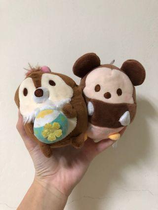 🚚 Fluffy 迪士尼 奇奇蒂蒂 米奇 送 拉拉熊