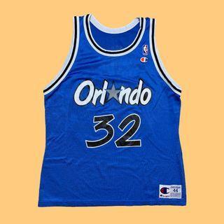 JCI:Vintage Champion NBA 奧蘭多 魔術隊 俠客 歐尼爾 球衣 / 90s / 冠軍牌 / 古著