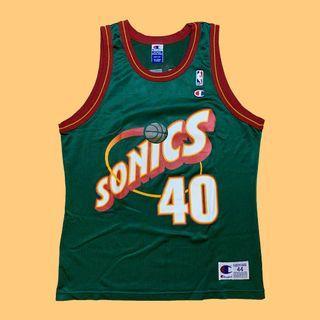 JCI:Vintage Champion NBA 西雅圖 超音速隊 野獸 坎普 客場球衣 古著 / 西岸 / 冠軍牌