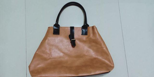 Brown Fashion bag unisex