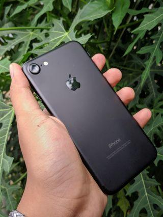 iPhone 7 32GB matte black Fullset