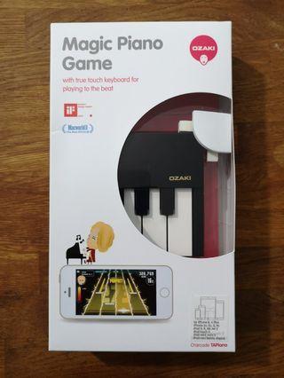 Piano game keyboard