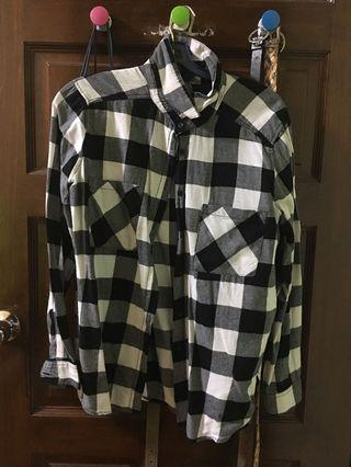 H&M Checkered Flannel