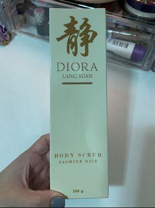 Diora Body Scrub - Jasmine Rice 200g