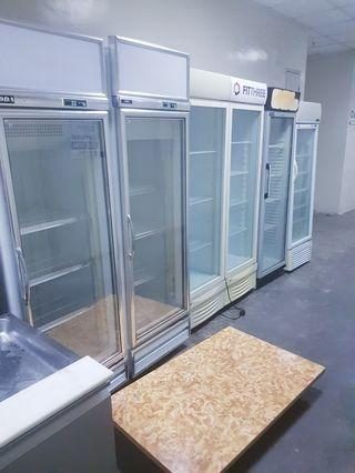 Display drink chiller  single double 3D all have