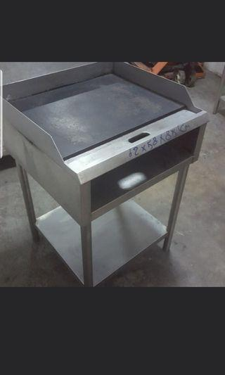 Hot plate grilled all size have gas/electric