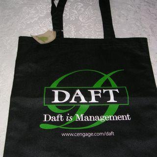 "BN Daft is Management Tote Bag, 14.5"" x 16"""