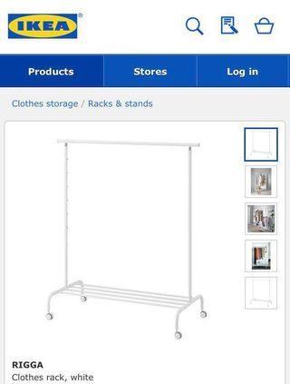 IKEA 宜家傢俬 RIGGA 衣帽架 掛衫架