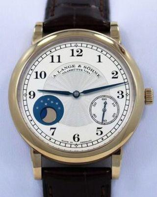 A. Lange & Sohne 1815 Moonphase Hommage to FA Lange 18 ct. Rose Gold Limited Edition 212.050