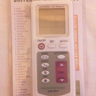 Aircon Universal Remote control