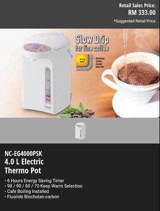 Panasonic Thermos pot 4L