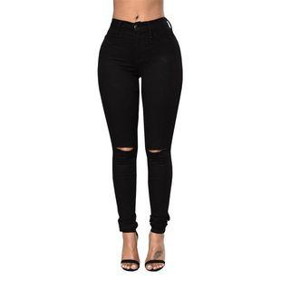 Cheap Monday high waisted ripped jeans