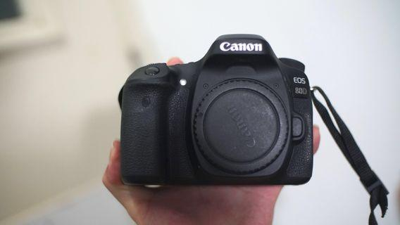 (Very new) Canon 80D body only