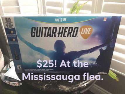 Wii U guitar 🎸 live