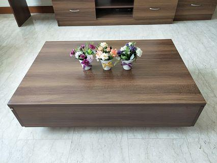 🚚 Wooden Coffee Table