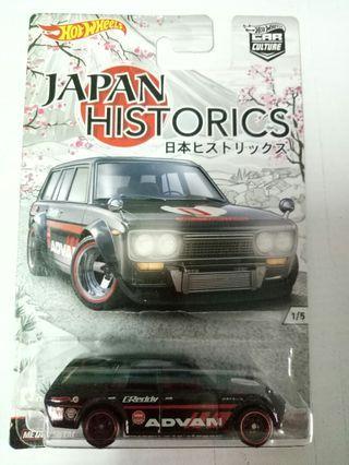 Hot Wheels wagon 510 japan historics