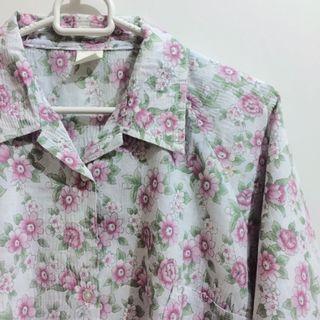 Kemeja Bunga Vintage