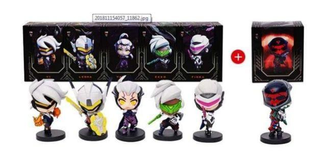 League of Legends Project ver. 2 Mini Figures